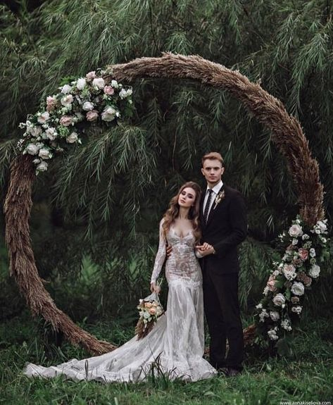 Wiccan Wedding DressYou can find Medieval wedding and more on our website. Pagan Wedding Dresses, Wiccan Wedding, Medieval Wedding, Viking Wedding Dress, Fairy Wedding Dress, Wedding Rituals, Forest Wedding, Boho Wedding, Dream Wedding