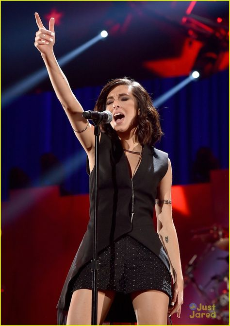 Christina Grimmie--such a talented girl. She's also so sweet!!