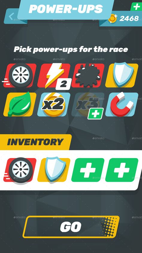 Game Assets for 2 Cars Racing
