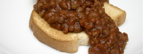 Heinz style baked beans