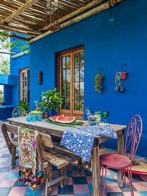 15 Ideas De Moda Para Pintar Tu Casa Techo De Cana Decoracion De Exteriores Decoracion De Unas