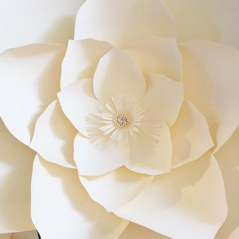 Paper Flower Template With Video Instruction Pdf And Svg Digital