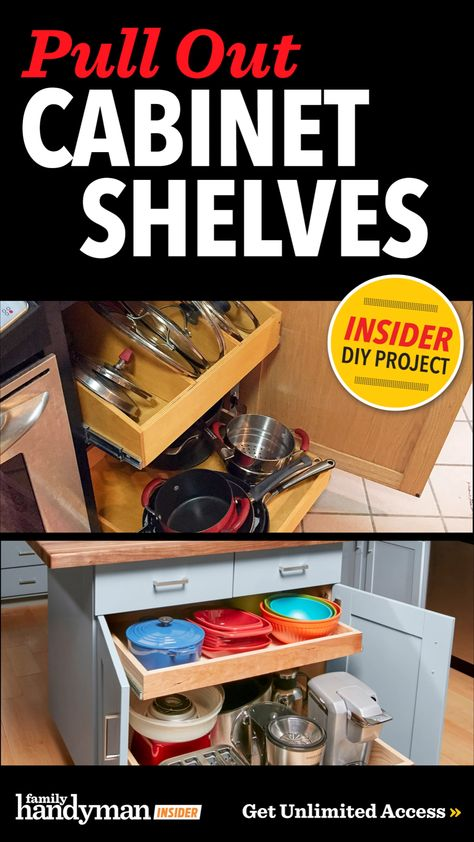 Pull Out Cabinet Shelves