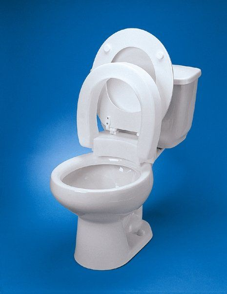 Elongated Hinged Raised Toilet Seat Toilet Seat Hinges Toilet
