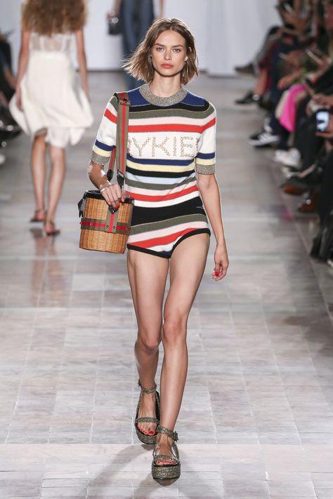 Sonia Rykiel Spring 2018 Ready-to-Wear  Fashion Show Collection