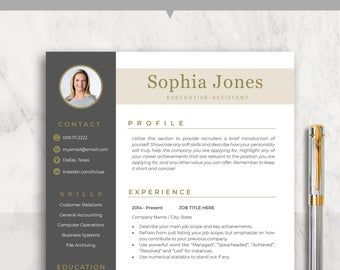 Creative Resume Template Cv Template Instant Download Editable In Ms Word And Pages Cover Letter Resume Template Creative Resume Templates Resume Design