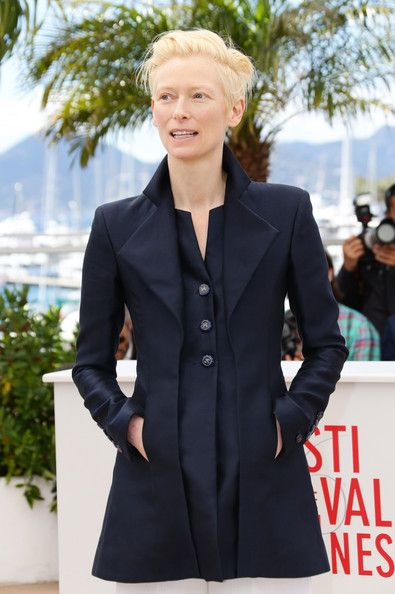 Tilda Swinton Photos Photos - Tilda Swinton attends the 'Only Lovers Left Alive' photocall during The Annual Cannes Film Festival at Palais des Festival on May 2013 in Cannes, France. - 'Only Lovers Left Alive' Photo Call in Cannes