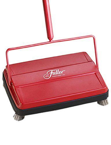 Fuller Brush 17052 Electrostatic Carpet Sweeper Keep Your Bulky Vacuum In The Closet For Those Small Jobs Cleans Fuller Brush Floor Sweepers Carpet Flooring