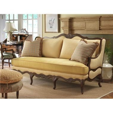 Highland House Furniture 4106 77 Fl Regence Sofa