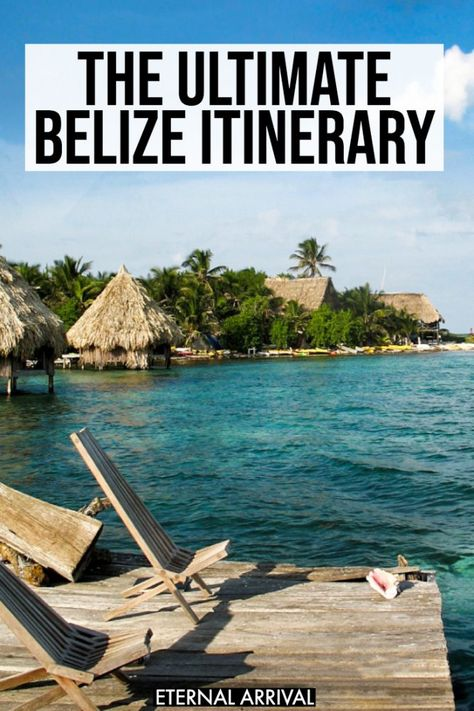 Planning a Belize vacation? This Belize travel guide includes tips for spending a week in Belize, co Belize City, Belize Cruise Port, Belize Hotels, Belize Honeymoon, Belize All Inclusive, Belize Vacations, Belize Travel, Vacation Resorts, Travel