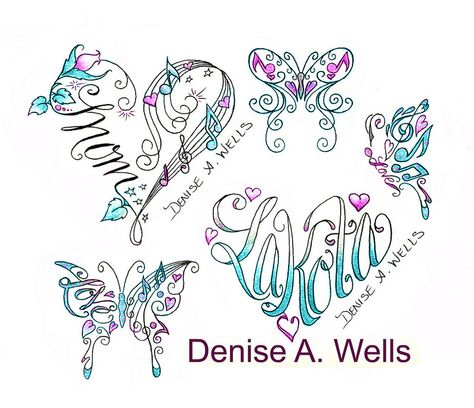 Small wrist tattoos Denise A. Wells