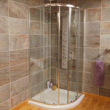 Aqualine 800 Quadrant Shower Enclosure And Optional Tray