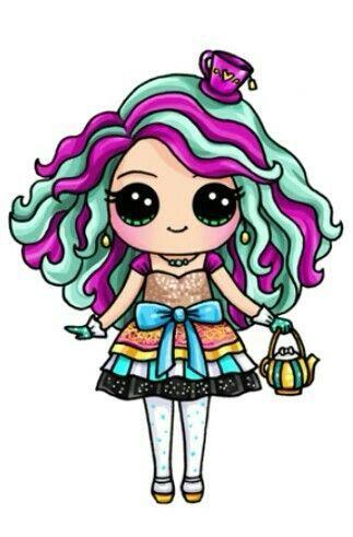 Madeleine Hatter Bydraw So Cute Desenhos Kawaii Kawaii