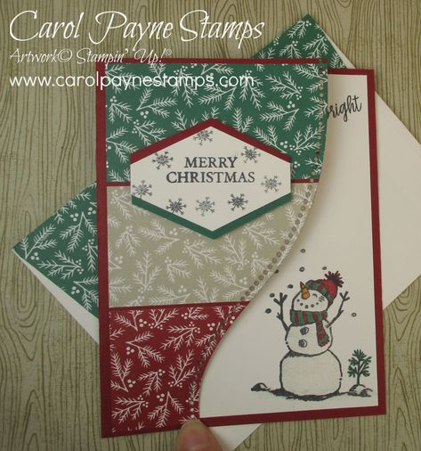Christmas Sale Green Snowflake Pattern READY TO SHIP 2 Mini Note CardsGift Cardswith Ribbons