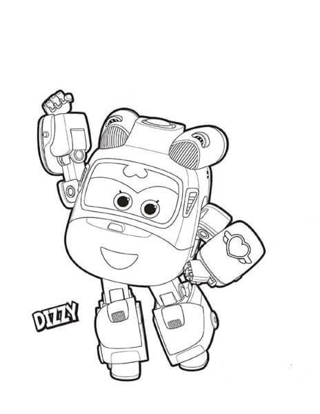Top 15 Super Wings Printable Coloring Pages For Kids Paginas