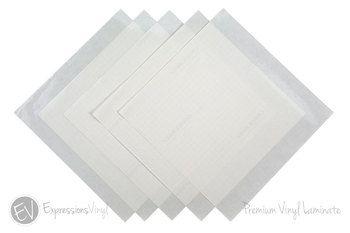 Premium Vinyl Laminate 12 X12 Sheets Inkjet Printable Vinyl Inkjet Vinyl Waterproof Printable Vinyl