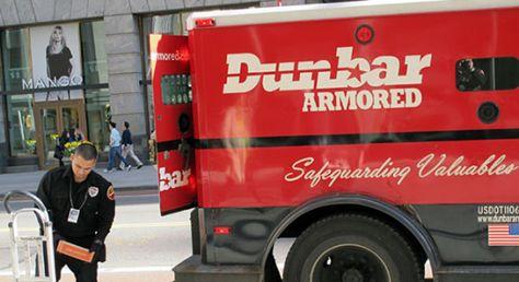 Dunbar Armored Security Guard\/Messenger Shot in an Armored Car - armored car security officer sample resume