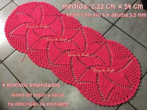 Pin Em Croche Graficos