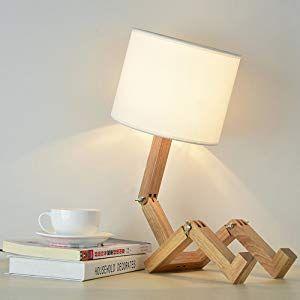 Wooden Desk Lamp Natural Wood Lamps