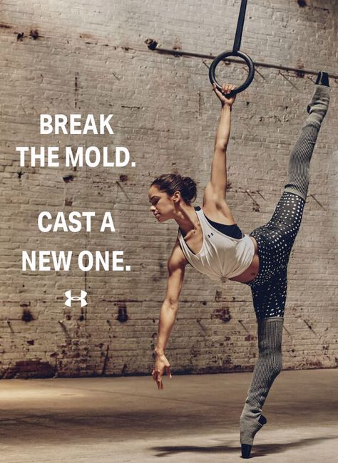Misty Copeland was first introduced to ballet on a basketball court at the Boys and Girls Club. By ballet standards, she was too old, too curvy, and too dark to be a premiere ballerina. She didn't fit the ballerina mold. So, she broke it and casted a new one.  Pave your own path to success.