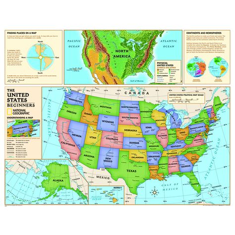 Beginners united states map | Products | Pinterest | Education, Map ...