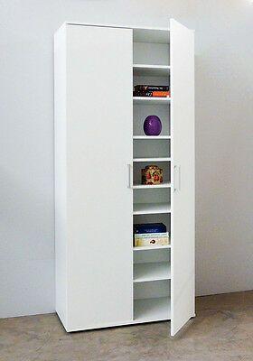 Haushaltsschrank Weiss Tall Cabinet Storage Locker Storage Kitchen Remodel Inspiration