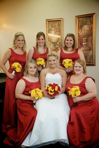 Red And Yellow Wedding Theme Ideas