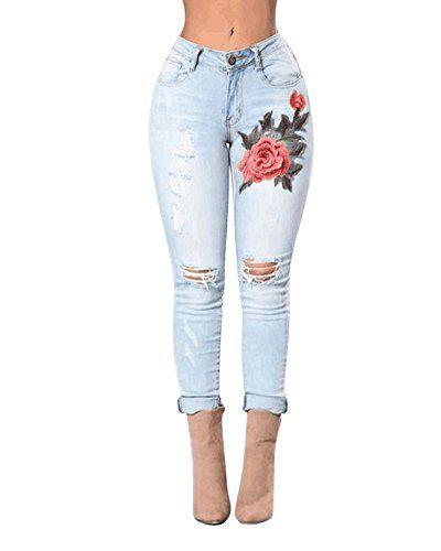 Pantalones de moda mezclilla