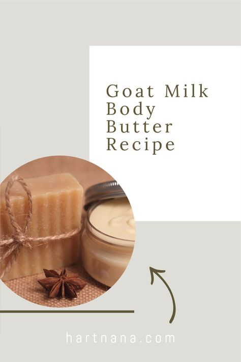 Body butter makes a great addition to any gift basket, or even as a small gift for coworkers or friends. Make this DIY body butter recipe for whipped body butter and give as gifts this holiday season! #hartnana #giftforcoworker #diybodybutterrecipe