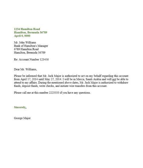 Authorization Letter 06 Stuff Pinterest Letter sample - letters of authorization