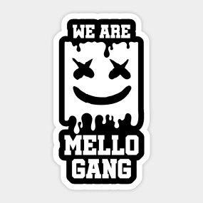 We Are Mello Gang Mellogang T Shirt Teepublic Fortnite Bilder Fortnite Cricut