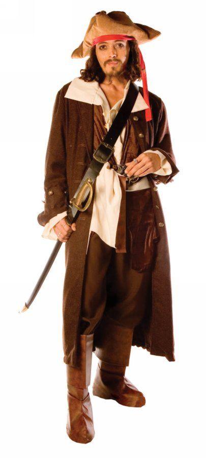 Captain Jack Adult Costume