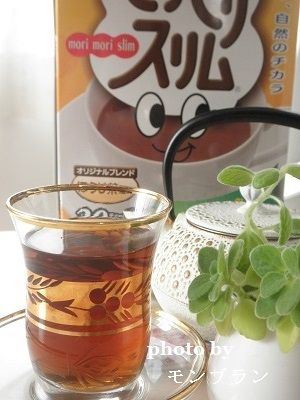 モリモリスリム でお腹悩み解消 茶 健康 ヤーコン