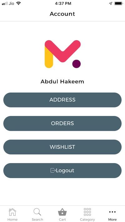 Mobile app for Magento - ionic 3 source code for iOS and
