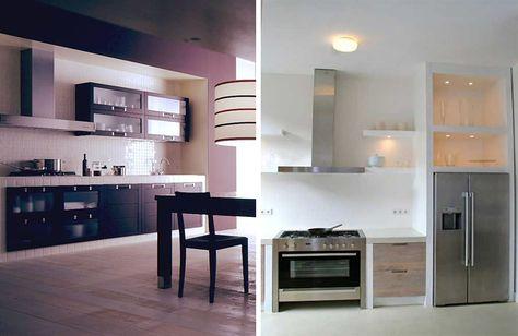 Cucine in muratura u idee per progettare una cucina costruita