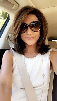 Charming Hairstyles for Mid-Length Hair for Summer 2019 - Page 10 of 20 - Fashion