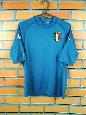 Italy Jersey 2000 2002 Home S Home Kappa Blue Men Football Soccer Shirt In 2020 Soccer Shirts Football Jersey Shirt Men S Football