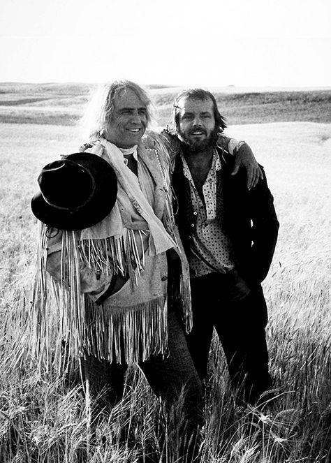 Jack Nicholson and Marlon Brando