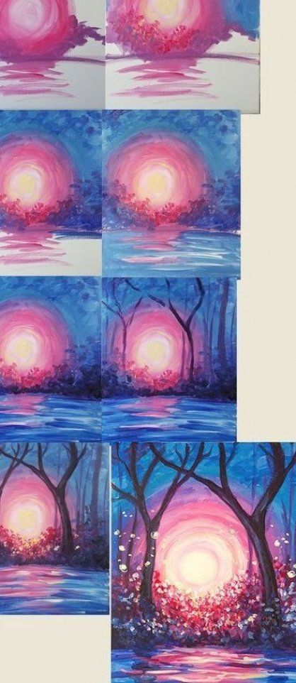 Nit La Christmas Lighting 2020 great from each other canvas painting summer, aesthetic painting