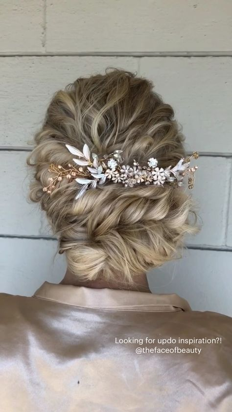Looking for updo inspiration?! @thefaceofbeauty