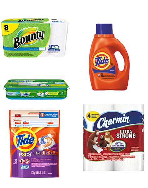 Bounty, Tide, Charmin and More - FREE After Rewards from Office Depot/ Office Max!