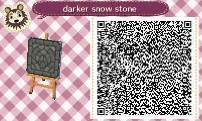 New Qr Of My Stepping Stone Path For The Darker Snow I Need To