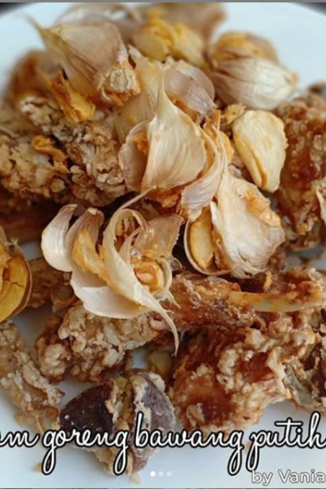 Resep Ayam Goreng Bawang Putih Spesial Nikmat Resep Ayam Ayam Goreng Resep