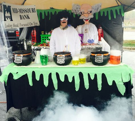 Image result for trunk or treat mad scientist
