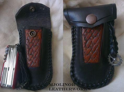 Victorinox Swiss Champ Holster By Davevdveer Holster Leather