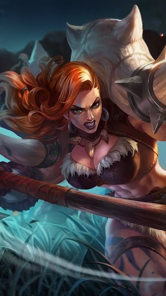 Hilda Mobile Legends 4k 3840x2160 Wallpaper Mobile Legends Mobile Legend Wallpaper Alucard Mobile Legends