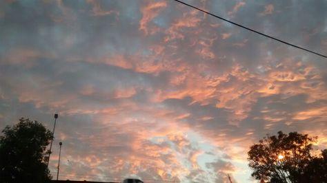 El cielo...