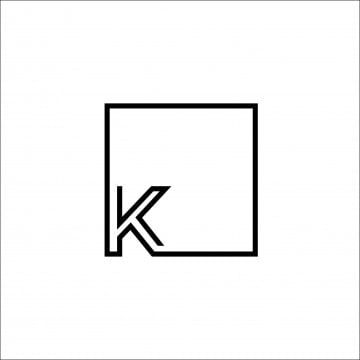 K And Square Logo, Logo Icons, Square Icons, Logo PNG and Vector with Transparent Background for Free Download