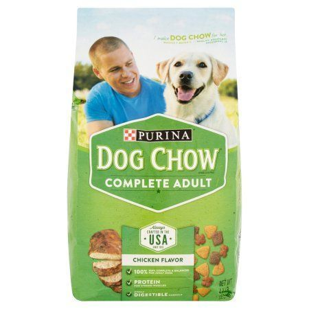 Purina Dog Chow Complete Adult Dog Food 4 4 Lb Bag Green