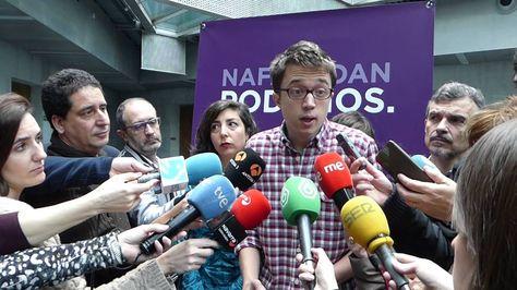 Iñigo Errejón sobre la posibilidad de PSOE-Cs-PP